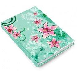 """Тетрадь """"Цветы Орхидеи""""А5/160л.кл.тв.пер."""