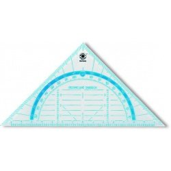 Треугольник-транспортир Office Point