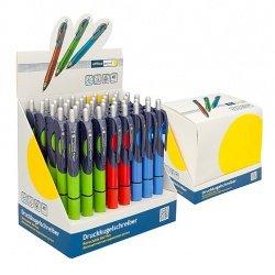 Ручка шариковая Office Point Triada автоматическая синяя
