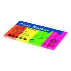 Блок бумаги с клеевым краем Office Point 50 мм х 20 мм x 4