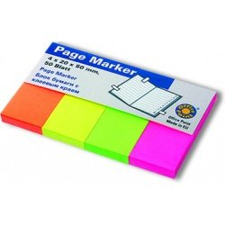 Блок бумаги с клеевым краем Office Point 50 мм x 20 мм x 4