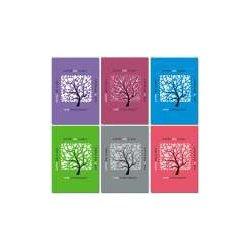 """Блокнот 60л., А6, """"Дерево в квадрате"""" склейка"""
