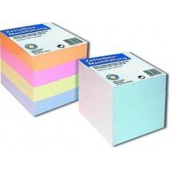Куб бумаги Office Point 8x8x8 цветной