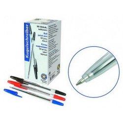 Ручка шариковая Office Point 50шт/уп чёрный