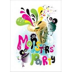 """Альбом для рисования """"Monsters"""""""