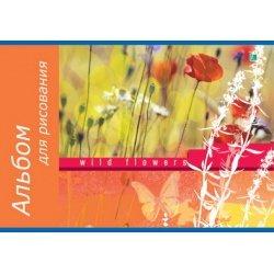 """Альбом для рисования """"Flowers 9"""""""