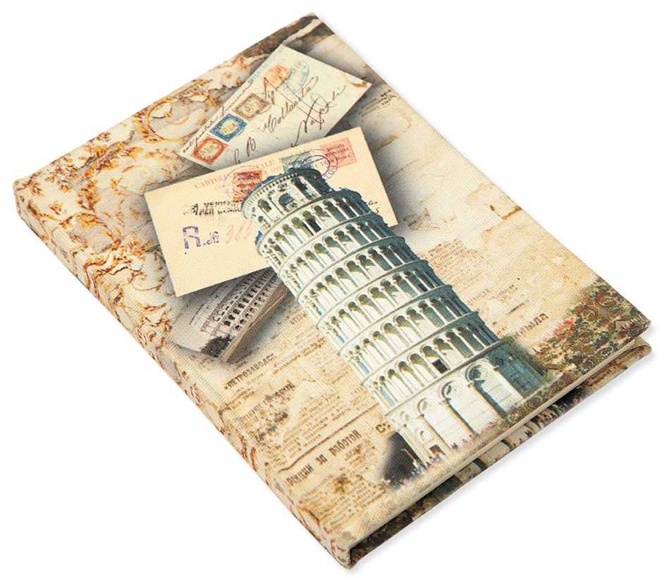 """Блокнот City """"Pisa"""" A6,80л.кл.без рез."""