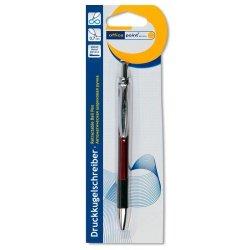 Ручка шариковая автоматическая Office Point Red
