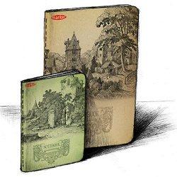 "Тетрадь""Old Book"" А5, 120стр, к"