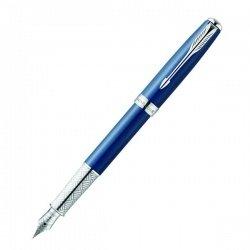 Ручка Parker  Sonnet 15 Secret Blue Shell перо