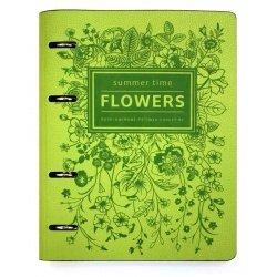 """Папка """"Flowers"""" А5 для сменного блока"""