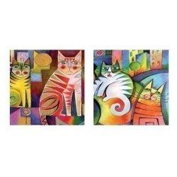 "Тетрадь А5/100л, ""Bright Cat"" клетка"
