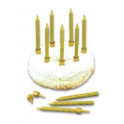 Свечи с подсвечниками