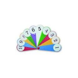 Веер цифр (касса 1-20)