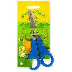"""Ножницы детские School Point 13см в блистере """"Крокодил"""""""