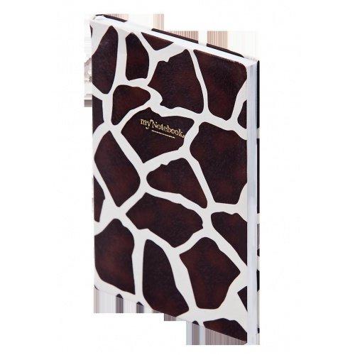 "Ежедневник н/дат ""Giraffe"" А5/192 стр , тв.перепл."