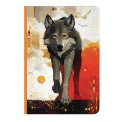 "Тетрадь  Art-Blanc А6/ 288c ""Wildlife"" ,линейка"