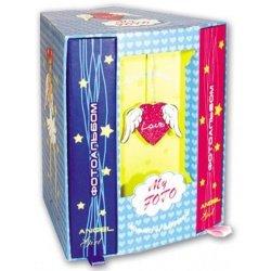 """Подарочный канц. набор """"Ангелочки"""" (два фотоальбома в карт. футляре)"""