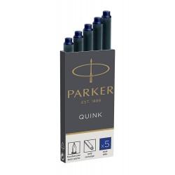 Капсулы чернильные Parker 5шт/уп. синие