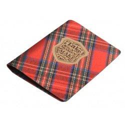 """Обложка для паспорта """"Scotland"""" Infolio 100*135 мм, текстиль"""