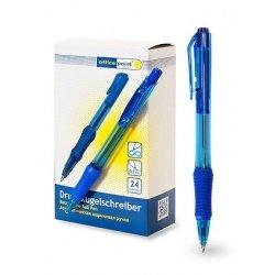 Ручка Office Point шариковая автоматическая 0.7 Dart 24шт/уп ассортимент