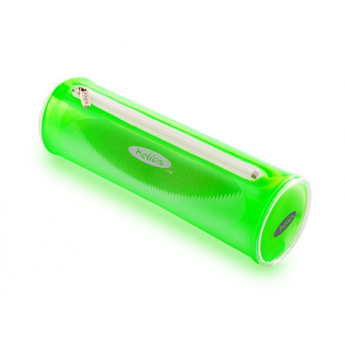 Пенал-тубус Helios зеленый