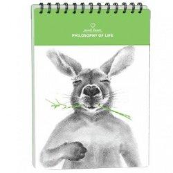 """Альбом для рисования """"Kangaroo"""" 144*204 мм/40 л, тв. переп"""