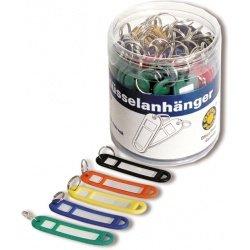 Бирки для ключей в наборе Office Point 50шт/уп ассортимент