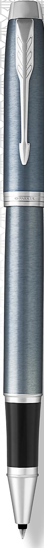 Ручка Parker  IM Metal Silver CT роллер