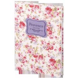 """Ежедневник н/дат """"Provence"""" А5/192 стр, кож/зам, интегр. переплет"""