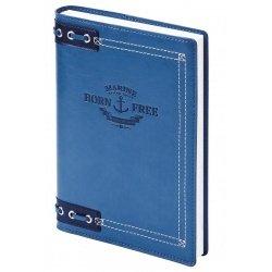 "Ежедневник н/дат ""Born Free"" А6/320 стр, кож/зам суперобл."
