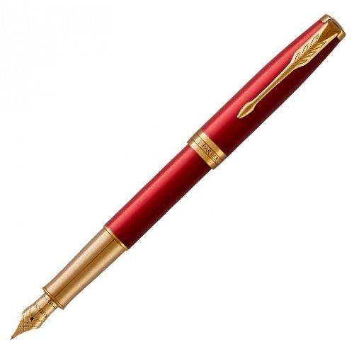 Ручка Parker  Sonnet Core Laque Red GT перо