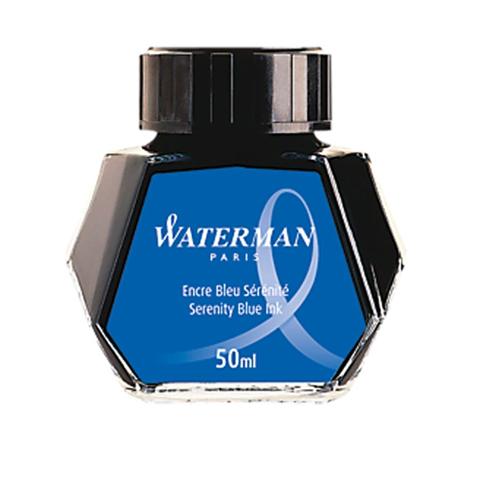 Чернила Waterman 50мл синие