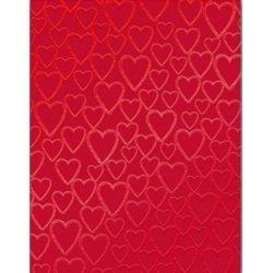 Записная книжка СЕРДЦА на красном фоне, тв. перепл.117*151 мм, 160 стр.,