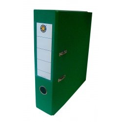 Папка-регистратор А4 7.5см Office Point сборная зелёный