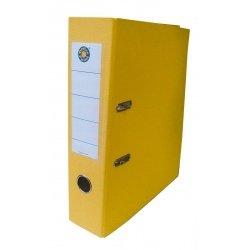 Папка-регистратор А4 7.5см Office Point сборная желтый