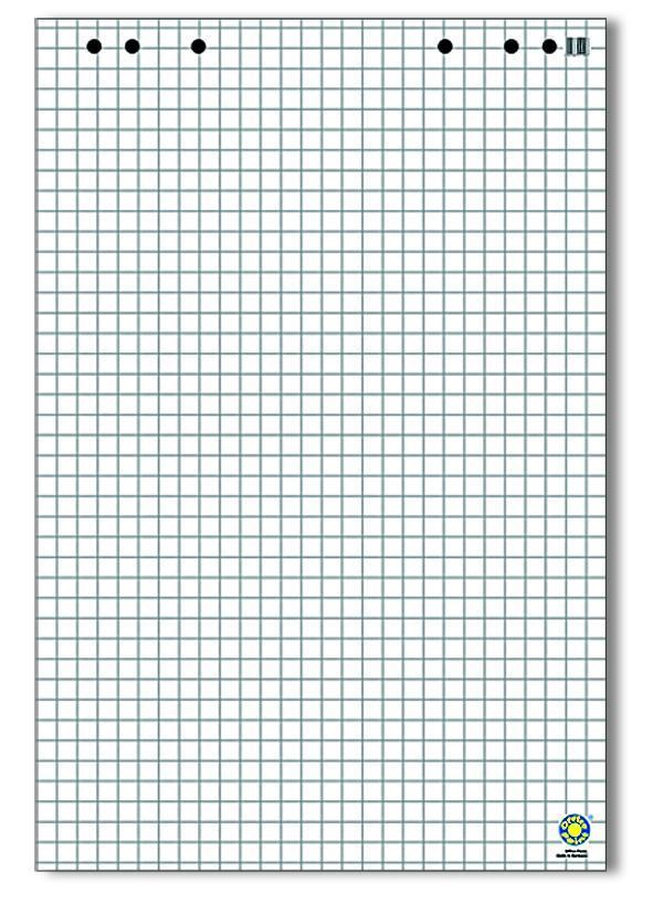 Блокнот для флипчарта Office Point 20 листов, 68x99 см, клетка