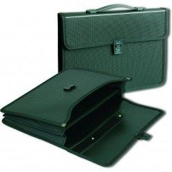 Портфель Office Point А4 2 отделения чёрный