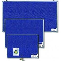 Доска пробковая Office Point 90х120 ткань