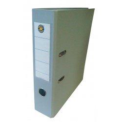 Папка-регистратор А4 7.5см Office Point сборная серая