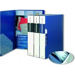 Папка пластиковая А4 80 прозрачных вкладышей Office Point ассортимент