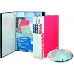 Папка пластиковая А4 20 прозрачных вкладышей Office Point ассортимент