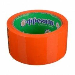Клейкая лента 48мм 48м 45мк оранжевая, , шт