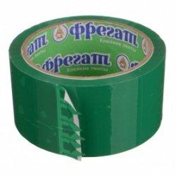 Клейкая лента 48мм 50м 45мк зеленая