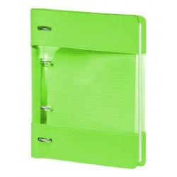 """Тетрадь  """"Neon"""", зеленый 175х212 мм, 120 л., клетка, кольцевой механизм"""