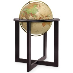 Глобус CROSS ANTIQUE D-50 см с подсветкой, русский язык