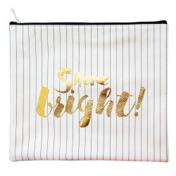 """Папка """"Shine Bright""""  258х220 мм, для тетрадей, искусственная кожа, на молнии"""