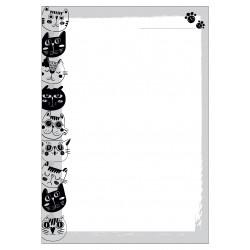 """Сменный блок """"Cats"""" 140х200 мм, 100 л., нелинованный"""