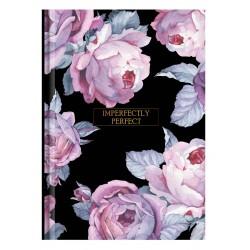 """Тетрадь """"Bloom"""" розовый, 140х200 мм/96 л. книжный переп, клетка"""