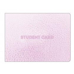 """Обложка для студенческого билета """"Silver"""" золотой, 112*83 мм иск. кожа"""